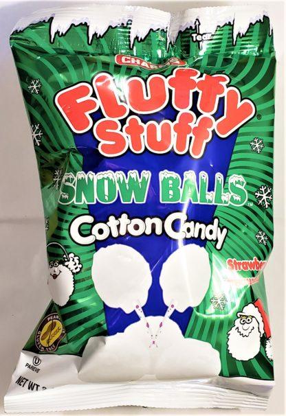 Fluffy Stuff Strawberry Snow Balls bag