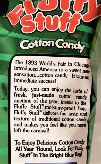 Fluffy Stuff Strawberry Snow Balls bag Info