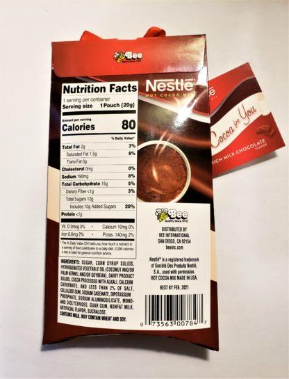 Nestle Hot Cocoa back