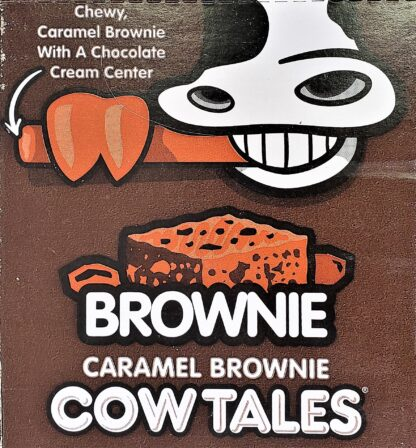 Cow Tales Caramel Brownie ad