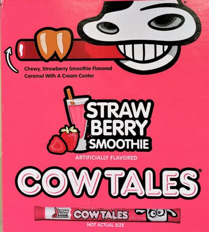 Cow Tales Strawberry ad