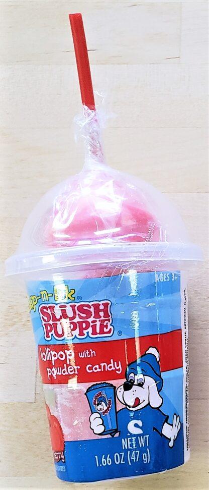 Slush pupplie dip n lik raspberry
