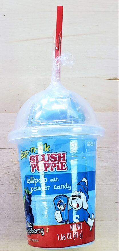 Slush pupplie dip n lik blue raspberry