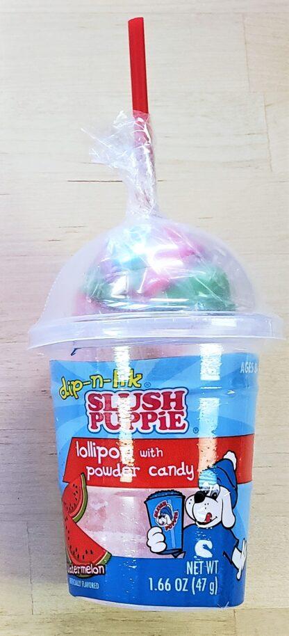 Slush pupplie dip n lik watermelon