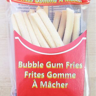 bubble gum fries front