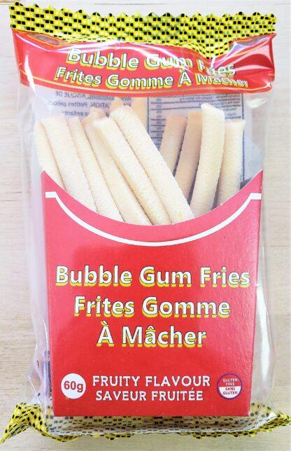 bubble gum fries front