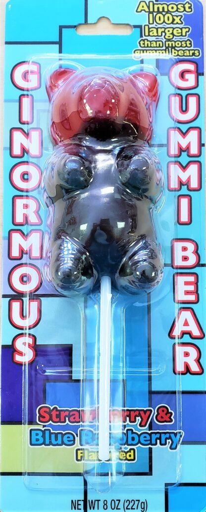 Ginormous gummi bear front