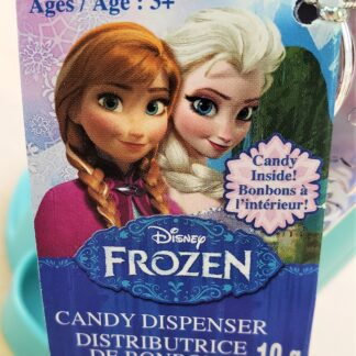 frozen candy dispenser tag