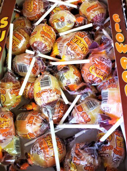 blow pop candy corn box