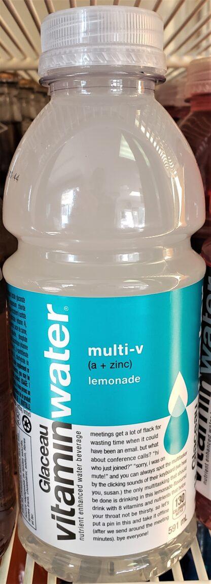 Glaceau Vitamin Water lemonade