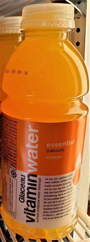 Glaceau Vitamin Water orange