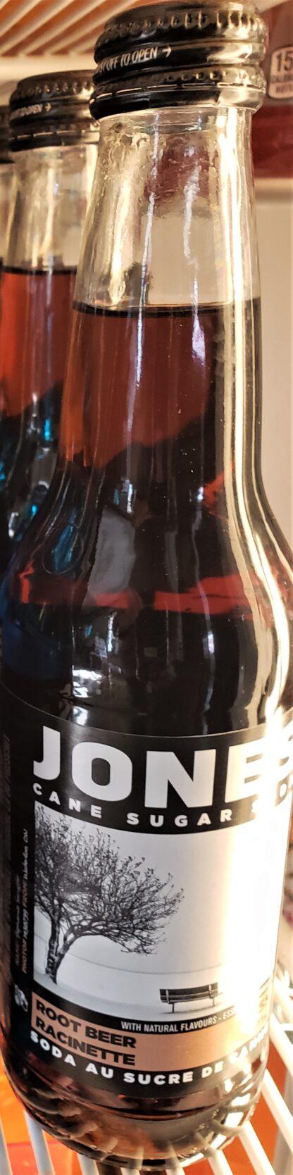 jones bottle root beer
