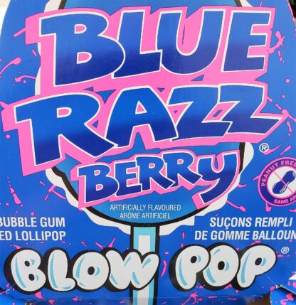 blow pop blue razz ad