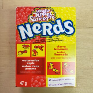 nerds cherry lemon