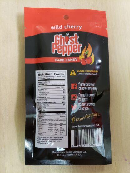 ghost pepper wild cherry back