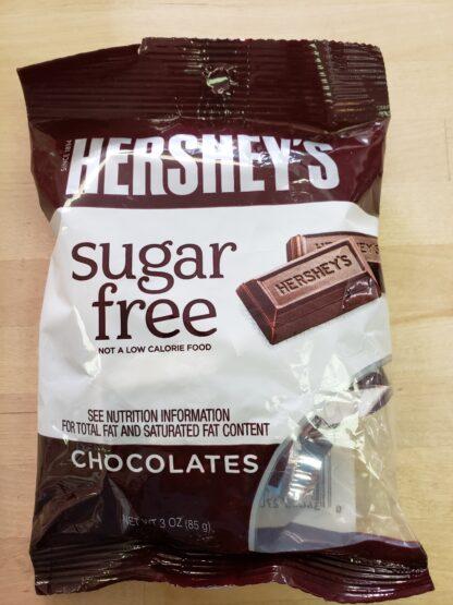 hersheys sugar free mini