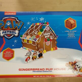 paw patrol gingerbread house kit