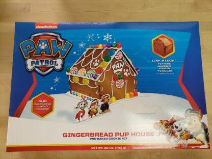 paw patrol gingerbread house kit