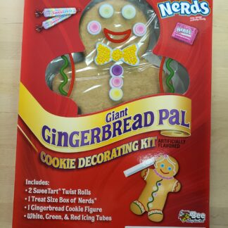 giant gingerbread pal sweetarts nerds