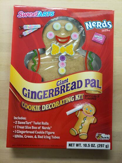 giant gingerbread pal sweetarts nerds