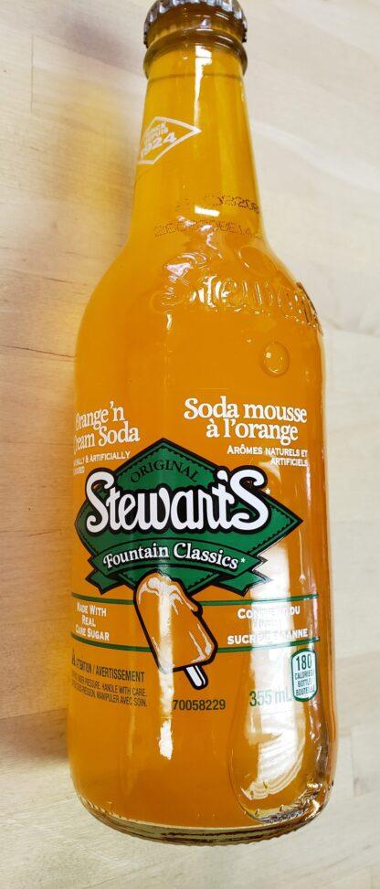stewarts orange cream soda
