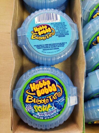 bubble tape sour blue raspberry