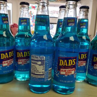 dads blue cream soda