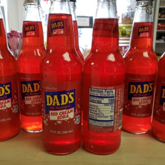 dads red cream soda