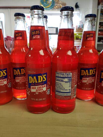 dads red cream soda