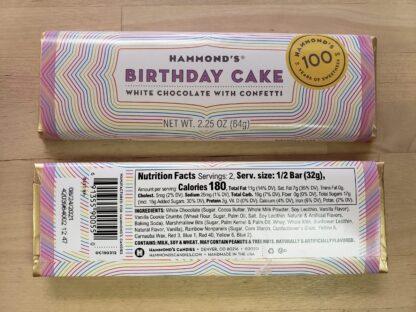 hammonds birthday cake