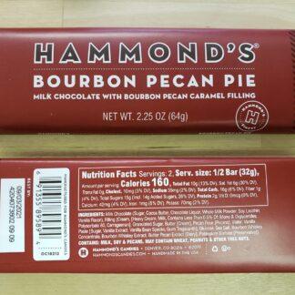 hammonds bourbon pecan pie