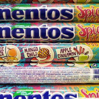 mentos spice it up