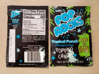 pop rocks tropical fruit
