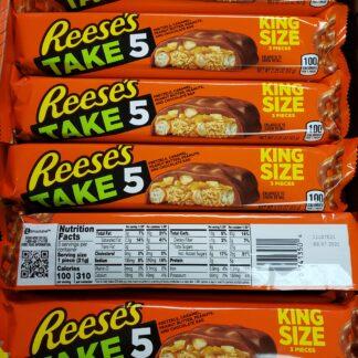 reeses take 5 king