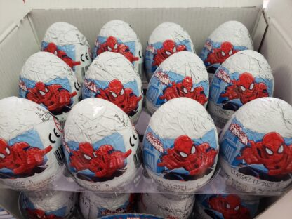 Spiderman egg