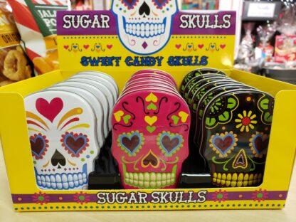 sugar skull tin