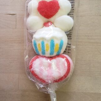 valentine marshmallow kabob